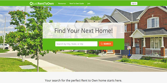 How to find rent to own homes?