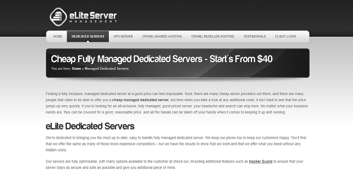 The Least Expensive Domain Name Enrollment managed dedicated server